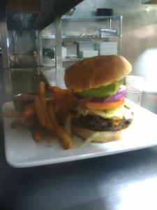 The tasty Cabo Burger.