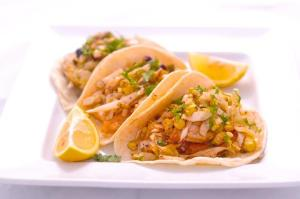 One of the best things on the menu: Mesquite Grilled Fish Tacos.