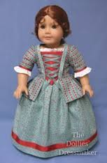 A miniature dressmaker doll that displays the fashion of then as a way to preserve the look.