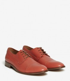 Reiss 1971 nacano soft leather brogues orange loafers. Grown man shoes!